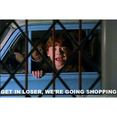 ah, more mean girls and harry potter...