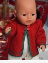 Doll knitting pattern Xmas gift 2009 Design: Målfrid Gausel