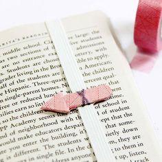 Shining Ideas / 10 Kendin Yap Kitap Ayraçları – 10 DIY Bookmarks