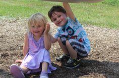 Great grandson Asher & Faye's great granddaughter Lauren