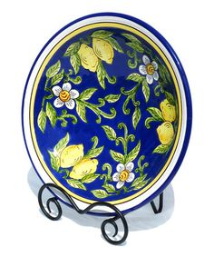 Look at this #zulilyfind! Citronique Small Serving Bowl by Le Souk Ceramique #zulilyfinds