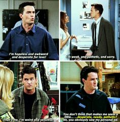 a big fat mood Friends Scenes, Friends Moments, Friends Show, Phoebe Buffay, Chandler Bing Quotes, Really Funny Memes, Funny Stuff, Funny Things, Odd Compliments
