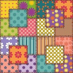 patchwork background with different patterns Más Cute Wallpapers, Wallpaper Backgrounds, Iphone Wallpaper, Patchwork Patterns, Textile Patterns, Background Vintage, Background Patterns, Printable Paper, Printable Scrapbook Paper