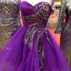 Sweet 16 party dress idea