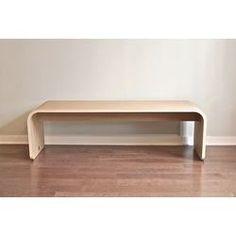 Orange22 Minimal Wood Bench | AllModern $499