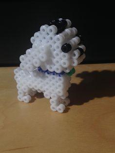 perrito de hama beads