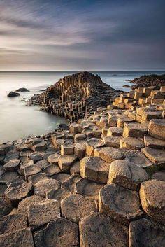 Calzada de los Gigantes, Irlanda del Norte.