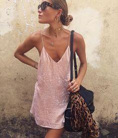 Slip dress.