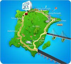 Escape - Penang's Outdoor Theme Park - How to Get There
