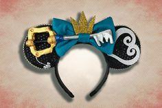 Diy Mickey Mouse Ears, Micky Ears, Diy Disney Ears, Disney Mickey Ears, Disney Diy, Disney Crafts, Disney Trips, Disney Ears Headband, Disney Headbands