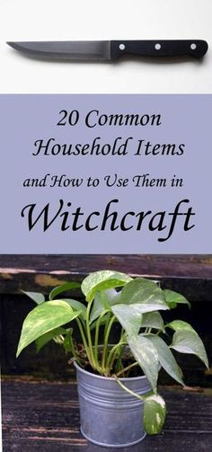 20 Common Household Items Used in Witchcraft - Moody Moons Green Witchcraft, Wiccan Spells, Wiccan Magic, Wiccan Witch, Wiccan Sabbats, Witchcraft Symbols, Magick Book, Witchcraft Books, Witchcraft Supplies