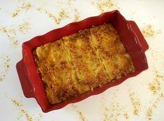 Lasagnes aux poireaux, poulet et curry
