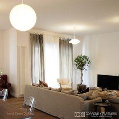 CORFONE+PARTNERS - Interior design Living room - 2L HOUSE