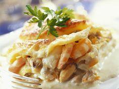 Lasagne mit Frutti di mare - smarter - Zeit: 1 Std. 30 Min. | eatsmarter.de