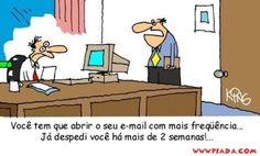 Demissão por e-mail!...