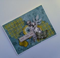 Trio of cards – Antiquities Some Cards, Glue Crafts, Ink Pads, Texture Painting, Clear Stamps, I Card, Workshop, Card Making, Just For You