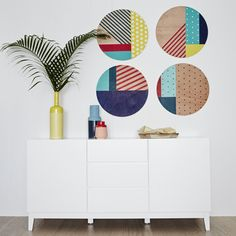 Refresh your home starting at the front door with these inviting entrance and hallway decorating ideas. From colourful doors to statement artwork, these simple ideas will create huge impact. Wicker Furniture, Furniture Design, Furniture Ideas, White Buffet, Freedom Furniture, Hallway Decorating, Decorating Ideas, Entrance, House Styles