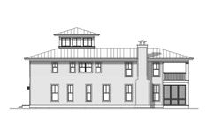 House Plan 1637-00105 - Coastal Plan: 2,157 Square Feet, 3 Bedrooms, 3 Bathrooms