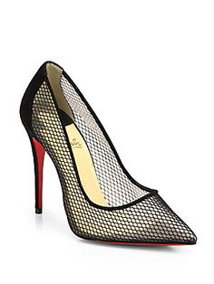 Christian Louboutin Follies Resille Fishnet