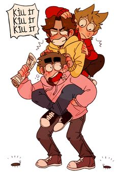 Paul: AAAAHHH Patryck: KILL IT KILL IT KILL IT Tord: What the fuck are these?!?