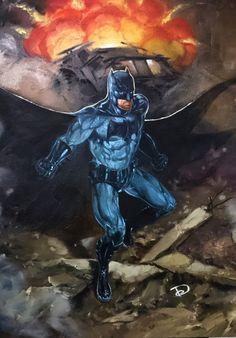 Batman v Superman: Dawn of Justice Comic Art
