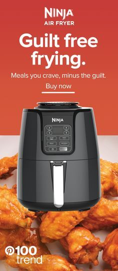 Now you can enjoy your favorite fried foods without all the guilt, with the Ninja® Air Fryer! Tap the Pin to learn more. Slow Cooker Recipes, Crockpot Recipes, Healthy Recipes, Cooking Tips, Cooking Recipes, Air Fried Food, Cooking Appliances, Air Fryer Recipes, Cravings