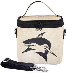 RAW LINEN - Black Shark Small Cooler Bag