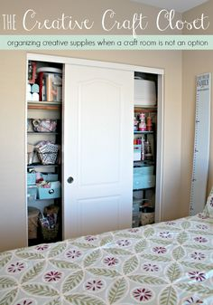 No space for a craft room? Do this instead!