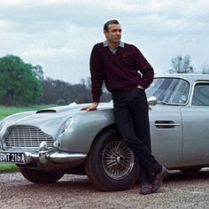 Children these days forget that it was James Bond who popularized Aston Martins #DB5