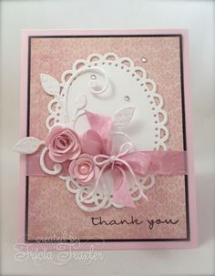 MFT Color Challenge - Thank You by T. Joy - Cards and Paper Crafts at Splitcoaststampers