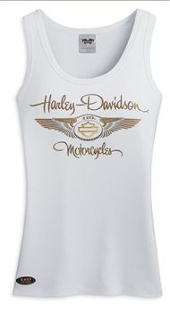Women's Limited Edition 110th Anniversary Knit Tank Top. White. 96094-13VW