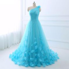 Tulle Long Evening Gown | Furrple