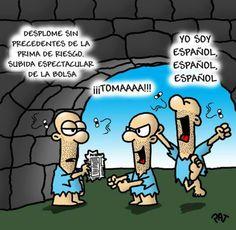 Los españoles contentos por la mejora de LOS MERCADOS