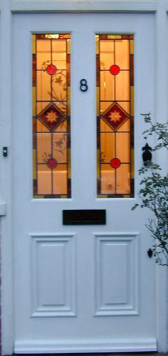 Victorian Stained glass doors - Google Search