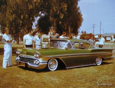 Click this image to show the full-size version. Getting Car Insurance, Best Car Insurance, 1958 Chevy Impala, Chevrolet Impala, Vintage Cars, Antique Cars, Car Tv Shows, Teen Driver, Kustom