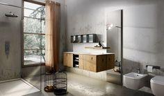 Collezione Maia by Edoné Design - 1 - Texture ricercate arredano l'ambiente bagno