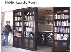 Hidden laundry room                                                                                                                                                     More