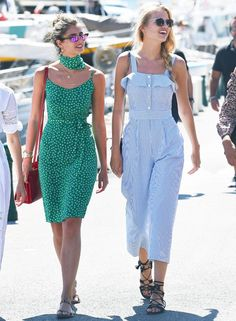 Taylor Hill and Daphne Groeneveld