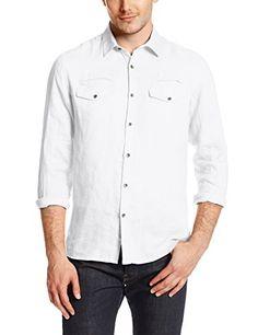 Kenneth Cole Men's Linen Shirt, White, Small Kenneth Cole New York http://www.amazon.com/dp/B00K1NCP54/ref=cm_sw_r_pi_dp_JwA6tb1KPCTQD