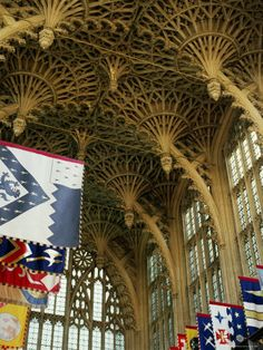 Henry VII Chapel, Westminster Abbey, London, England. I am in love with English fan vaults.