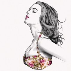Fashion Illustrations by Istanbul based Graphic designer and fashion illustrator Mustafa Soydan.