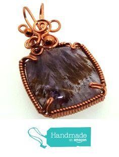 Super 7 Gemstone Copper Wire Wrapped Pendant from Angelleesa Designs https://www.amazon.co.uk/dp/B01LWPWTQ3/ref=hnd_sw_r_pi_dp_zZL7xb6RTRF5S #handmadeatamazon