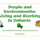 This is a complete unit for the new Ontario Social Studies curriculum for grade 3 - Living and Working in Ontario. It includes all diagnostic, for. Social Studies Curriculum, Grade 3, Ontario, School Stuff, Teaching Ideas, Teacher, Education, Learning, Projects