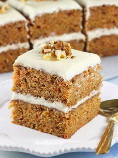 Sweet Recipes, Cake Recipes, Polish Recipes, Food Cakes, Pavlova, Vanilla Cake, Tiramisu, Healthy Snacks, Food And Drink