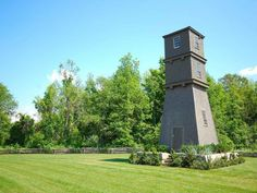 Water tower | 1665 Pilgrim era saltbox garrison style home, Gilmanton, New Hampshire