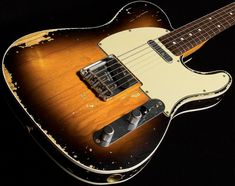 Telecaster Custom, Telecaster Guitar, Fender Guitars, Acoustic Guitar Strings, Fender Custom Shop, Music Theory, Vintage Guitars, Yamaha, Instruments