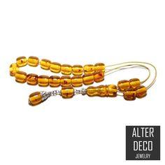 Worry Beads, Greek Komboloi, Baltic Amber color, Barrel shape beads, tasbih, Relaxation, Meditation. #BakeliteWorryBeads #begleri #GreekKomboloi #BirthdayGift #meditation #greece #style #GiftForHim #tasbih #collectible Amber Beads, Paper Tape, Amber Color, Baltic Amber, Bracelet Sizes, Decorative Items, No Worries, Greece Style, Barrel