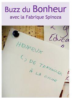 Au menu : des petits bonheurs qui font notre Buzz du Bonheur. Merci la Fabrique Spinoza ! http://fabriquespinoza.fr/