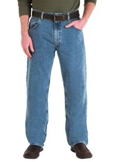Wrangler Crescent Moon Comfort Stretch Loose Fit Jeans