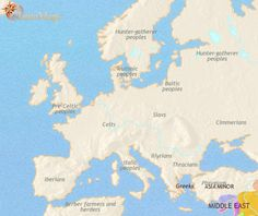 Ancients Cultures of Europe 1000 BC